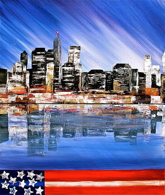 Painting - New York by Heather Matthews