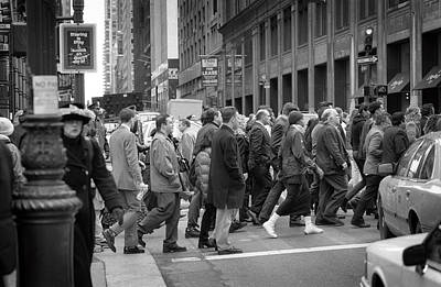 Photograph - New York Herd 1993 by Dave Beckerman