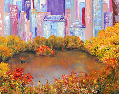 New York I Love You Art Print