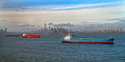 City Scenes Royalty-Free and Rights-Managed Images - New York II by Betsy Knapp