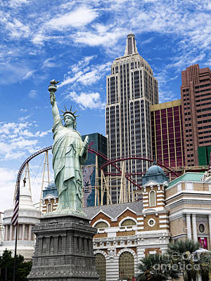 Photograph - New York In The Desert by Brenda Kean