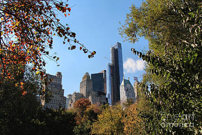 Photograph - New York In The Fall by Rory Sagner