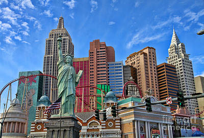 Photograph - New York In Vegas By Diana Sainz by Diana Raquel Sainz