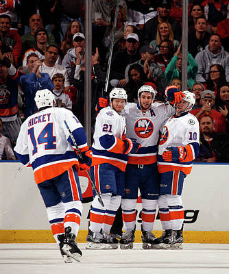 Photograph - New York Islanders V Florida Panthers - by Eliot J. Schechter