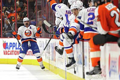 Photograph - New York Islanders V Philadelphia Flyers by Patrick Smith