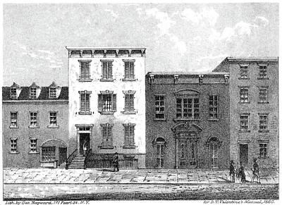 Jail Painting - New York Jail, 1860 by Granger