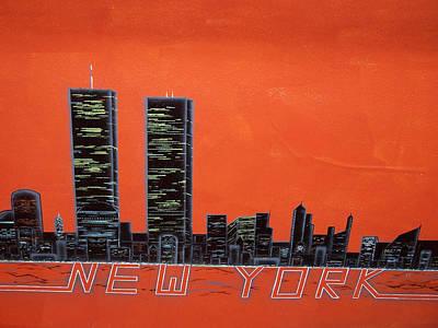 Painting - New York by Jason Girard