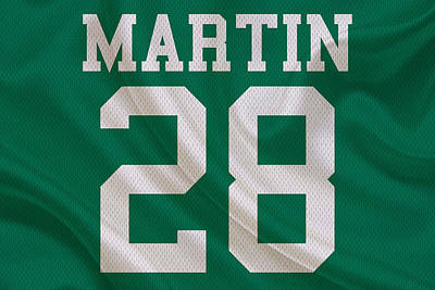 New York Jets Curtis Martin Art Print
