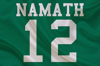 New York Jets Joe Namath Art Print
