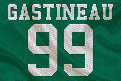New York Jets Mark Gastineau Art Print
