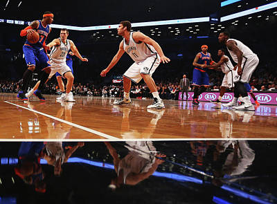 Photograph - New York Knicks V Brooklyn Nets by Al Bello