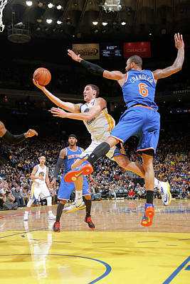 Photograph - New York Knicks V Golden State Warriors by Rocky Widner