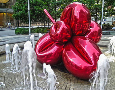 Painting - New York Koons Art by Gregory Dyer