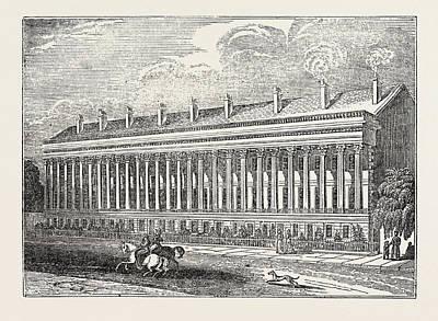 New York La Grange Terrace, Lafayette Place Print by Litz Collection