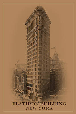 Photograph - New York Landmarks 3 by Andrew Fare