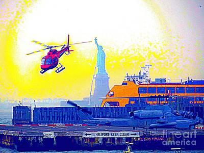 New York Life Print by Ed Weidman