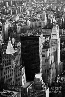 New York Life Insurance Co Building Belvedere Building And Metropolitan Life Insurance Corp Building Art Print by Joe Fox