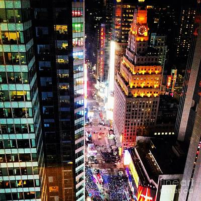 Photograph - New York by M West