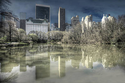 Photograph - New York Manhattan by Gouzel -