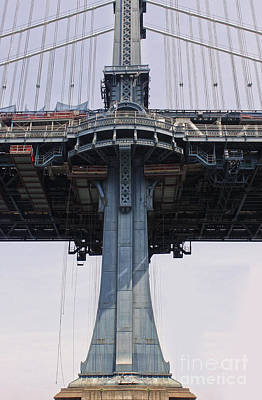 Photograph - New York - Manhatten Bridge Overpass by Gregory Dyer
