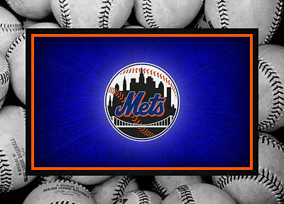 New York Mets Art Print by Joe Hamilton