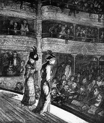 New York Miner's Theater Art Print by Granger