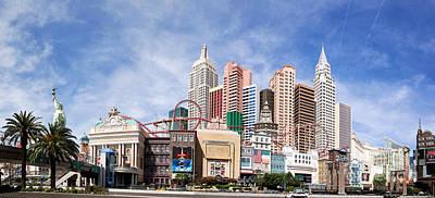 Sins Photograph - New York New York Las Vegas by Jane Rix