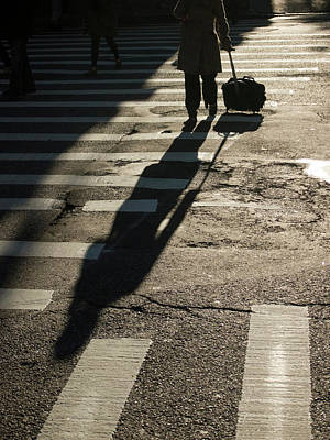 Crosswalks Photograph - New York, New York, United States by David H. Wells