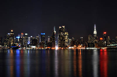Photograph - New York Nights by Jarrett Hendrix