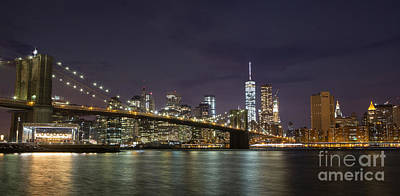 Photograph - New York Nights by Keith Kapple
