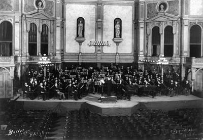Photograph - New York Orchestra, C1890 by Granger