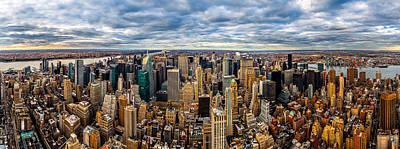 Photograph - New York Panorama by Mihai Andritoiu