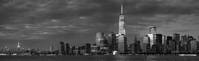 New York City Panoramic Skyline Original