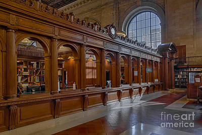 Photograph - New York Public Library Book Returns by Susan Candelario