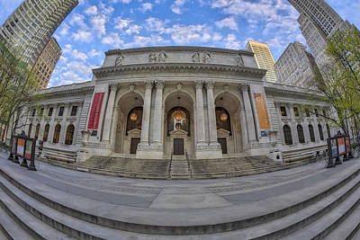 Photograph - New York Public Library - Nypl by Susan Candelario