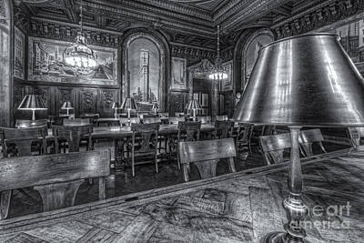 New York Public Library Periodicals Room Iv Print by Clarence Holmes