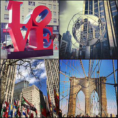Photograph - New York Sights  by Kerri Farley