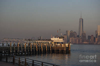 Photograph - New York Skyline 1 by Steve Purnell