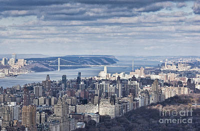 Photograph - New York Skyline 2 by Steve Purnell