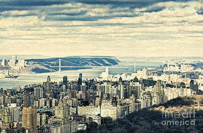 Photograph - New York Skyline 3 by Steve Purnell