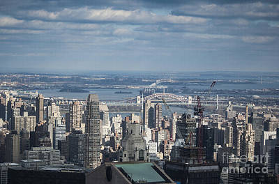 Photograph - New York Skyline 4 by Steve Purnell