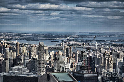 Photograph - New York Skyline 5 by Steve Purnell