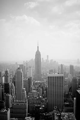 New York Skyline Art Print by Allan Millora Photography