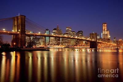 Photograph - New York Skyline by Brian Jannsen