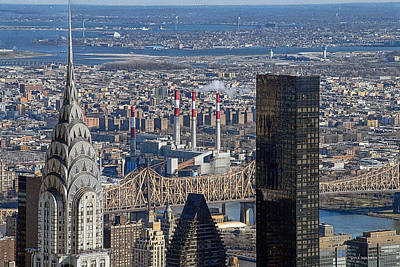 Photograph - New York Skyline by Dyle   Warren