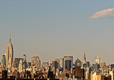 Photograph - New York City Skyline by Kerri Farley