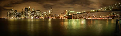 Photograph - New York Skyline by Shubhra Pandit