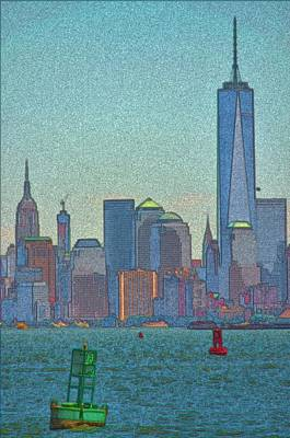 City Photograph - New York Skyline by Steven Richman