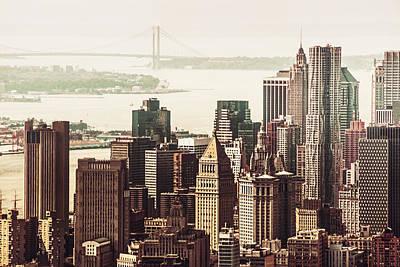 New York City Skyline Photograph - New York Skyline by Vivienne Gucwa
