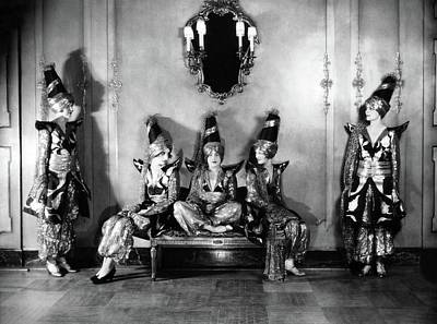 Photograph - New York Society Members Pose For A Portrait by Edward Steichen